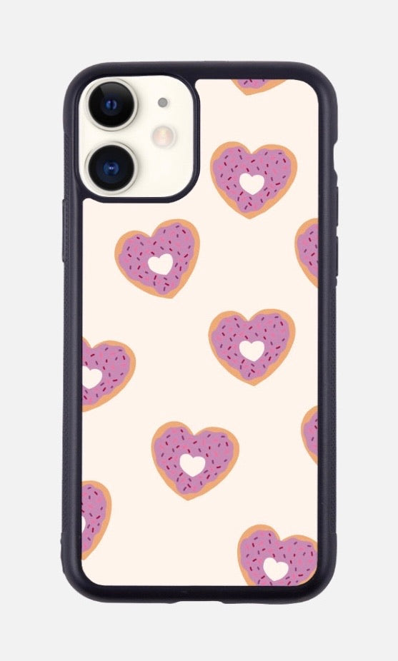 HEART DONUTS iPhone Case