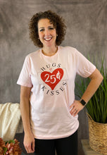 Load image into Gallery viewer, HUGS & KISSES Graphic Tee