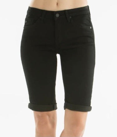 Kancan Black Bermuda Shorts