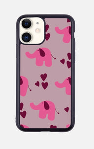 LOVE THE ELEPHANTS iPhone Case