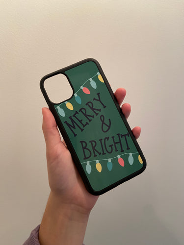 MERRY & BRIGHT iPhone Case