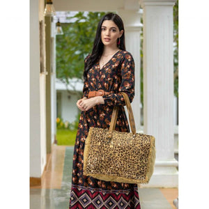 MYRA - Hunter Canvas and Hairon Bag