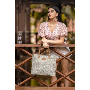 MYRA - Winter Moon Tote Bag
