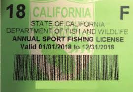 Shop for California Fishing Licenses – Pacific Edge Tackle