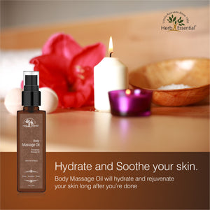 Body Massage Oil (Therapeutic Grade)