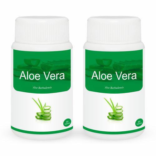 Herb Essential Aloevera Tablet 60's (Pack of 2)