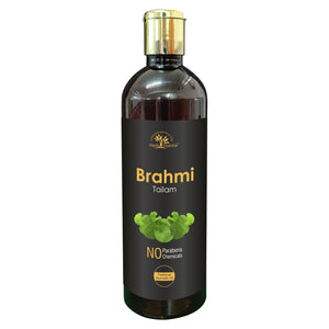 Brahmi (Bacopa monnieri) Hair Oil 200ml for Healthy Scalp