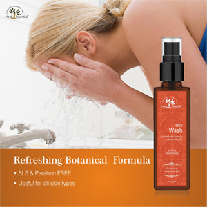 Refreshing Face Wash ( Enriched with botanical herbs ) 100 ml