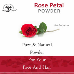 Rose Petal Powder, 200 gm (Pack of 4)