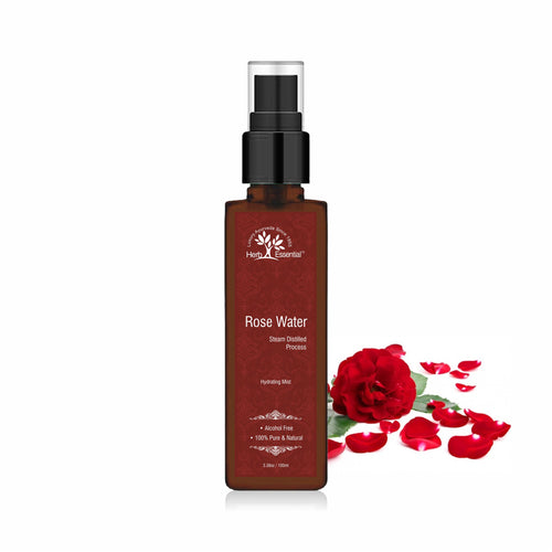 Hydrating Mist (Pure Rose Water) Steam Distilled, 100 ml
