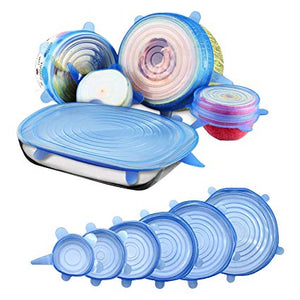 Portable Silicone Stretch Lids