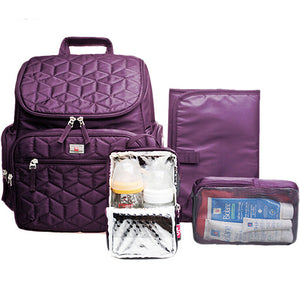 dandleME Quilted Diaper Bag