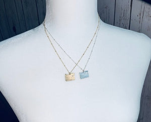 Heart Oregon Necklace