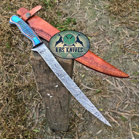 Damascus Fillet Knife