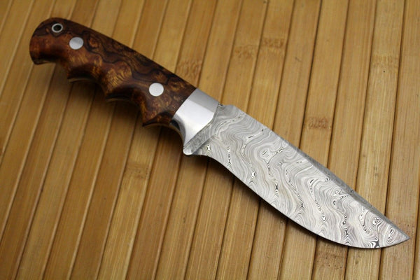 Custom Handmade Damascus Steel Steel Edc Knife