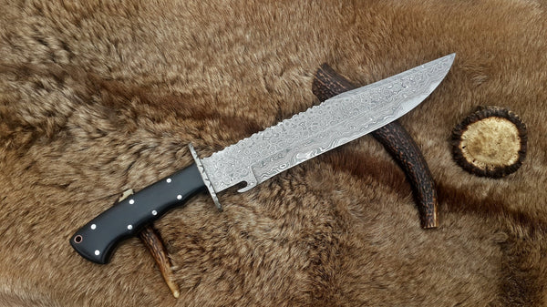 Hand Made Wild Pig Hunter Bowie