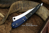 Handmade High Carbon Steel Razor Knife