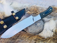 Full Tang Custom Handmade D2 Steel Kitchen Knife