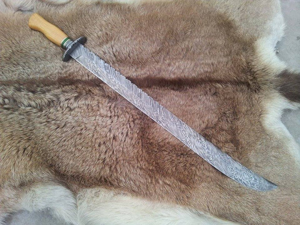 Hand Made Damascus Sword