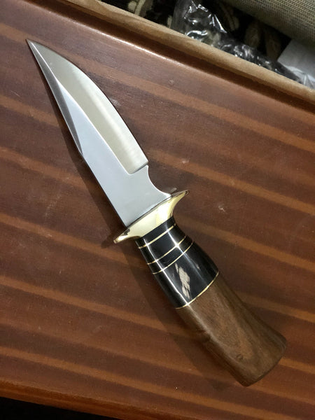 Custom Hamde D2 Steel Hunting Skinner Knife