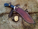 My New Damascus Kukri Knife