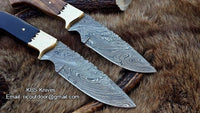 Hand Made Damascus Hunting Knives