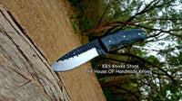 Custom Handmade Hammered 1095 High Carbon Steel Blade Knife