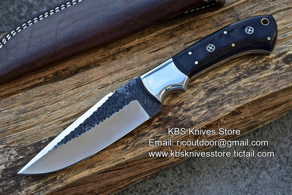 Hand Made D2 Steel Hand Forged Skinning Knife
