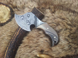 Damascus Blade Mini Skinning/Throwing Axe