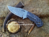 Hand Made Damascus Skinning Knife