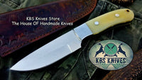 Custom Handmade D2 Tool Steel Hunting Skinning Knife
