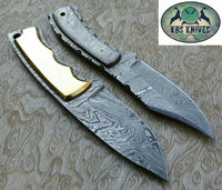 Hand Made Damascus Skinning Knives