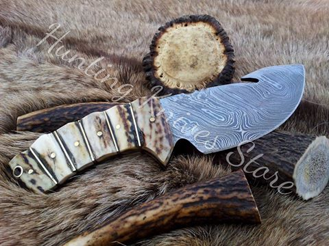 Hand Made Guthook Knife