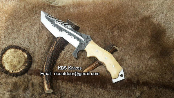 Hand Forge Tool Steel Tracker Knife