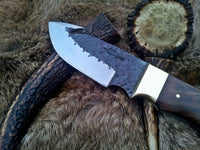 Hand Forge High Carbon Steel Gut Hook Knife