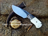 Hand Forge Carbon Steel Skinning Knife