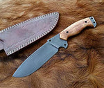 1095 HC Steel Bushcraft , Camping , Survival Knife