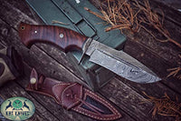 Damascus Steel Hunter Knife