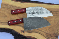 Full Tang Custom Handmade Damascus Steel Chef / Chopper Knife