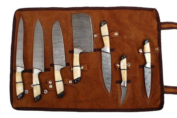 7 pcs of Professional Utility Chef Kitchen Knife Set