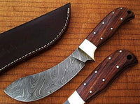 Damascus Hunting Skinning Knife