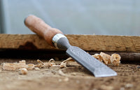 Damascus Steel Wood Carving Chisel
