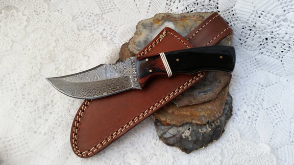 Damascus Skinning Knife