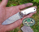 Real Stag Horn Skinning Knife