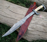 300 Movie Handmade Damascus Sword