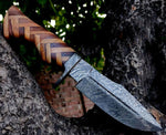 Damascus Wild Hunter Knife