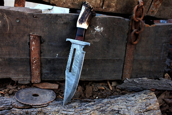 Custom Rambo Bowie Knife