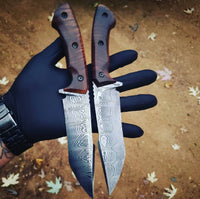 Damascus Steel Tanto Knife