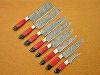 Damascus Steel Kitchen Set