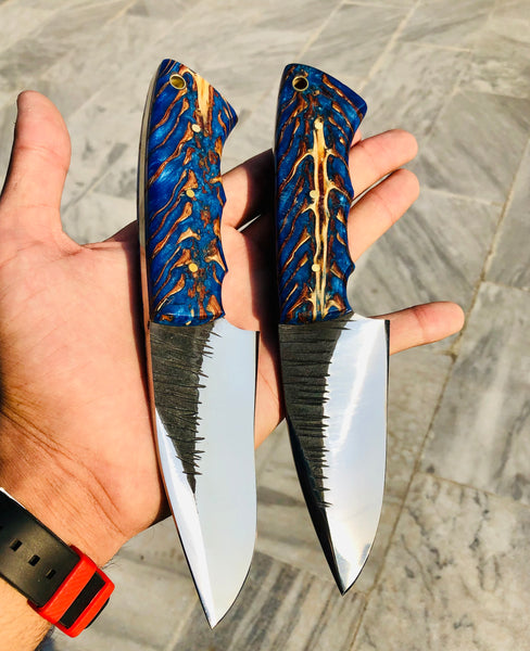 Hand Forged 1095 Steel Hunting knives